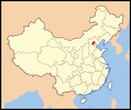 北京所在位置