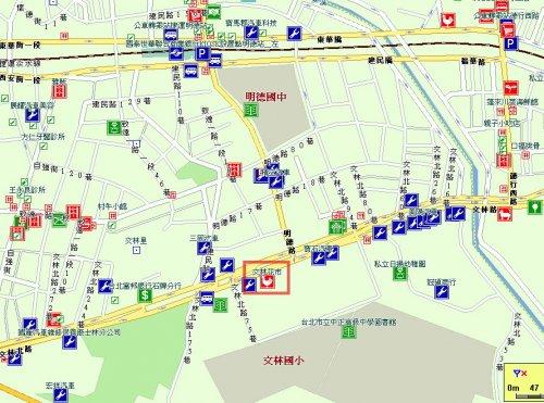 同心園 文林花市 地圖